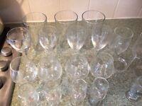 Glass: beer, wine, juice ....
