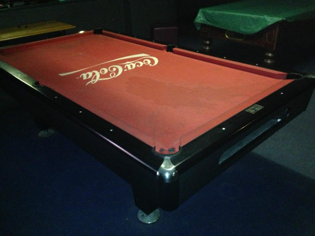 PROFESSIONAL EIGHT FOOT AMERICAN POOL TABLE DYBIOR OLYMPIC GERMANY - Eliminator pool table