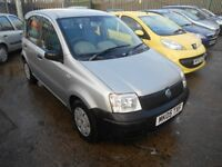 fiat panda 1.1 active 5dr 2005 model 63,000 miles from new,excellent driver and condition,low ins