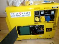 Generator single phase 6kva