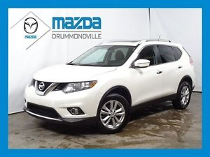 2015 Nissan Rogue SV+AWD+TOIT PANO+AUCUN ACCIDENT+BANCS CHAUFANT