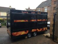 Burger van/Catering trailer/ready to go business//5* environmental health rating. Complete Refurbed