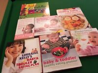 Baby food cookery books