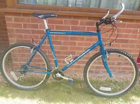 Gents like new Holdsworth Derwent cromoly frame mountain bike.