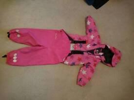 Kozi Kids Waterproof Fleece Lined Rain Set