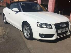 Audi A5 Cabriolet White 1.8 Turbo