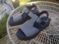 Dr. Martens ladies sandels size 6 -only worn a few times good as new leather uppers