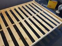 King Sized Wooden Bed Frame