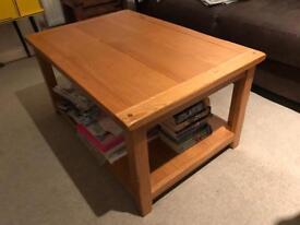 Lovely Solid Oak Coffee Table!!!