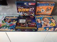 BOARD GAMES BUNDLE - 5 Great Games.