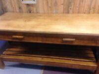 Vintage work bench/desk