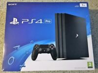 PlayStation 4 PRO 1TB Console or PS4 Games/Accessories