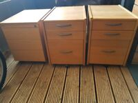 Office Pedestal drawers for £5 each.