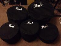 Pearl Drum Bag Set (5)