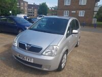 VAUXHALL MERIVA AUTOMATIC 1.6 LIT 12 MONTH MOT LOW MILEAGE IN EXCELLENT CONDITION VERY CLEAN