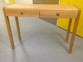 Habitat Radius Oak console table desk sideboard chest drawers Laura Ashley John Lewis loaf oka raft