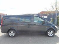 NO VAT!! mercedes benz vito 2.1cdi crew van, alloy wheels,full electric pack, air conditioning...