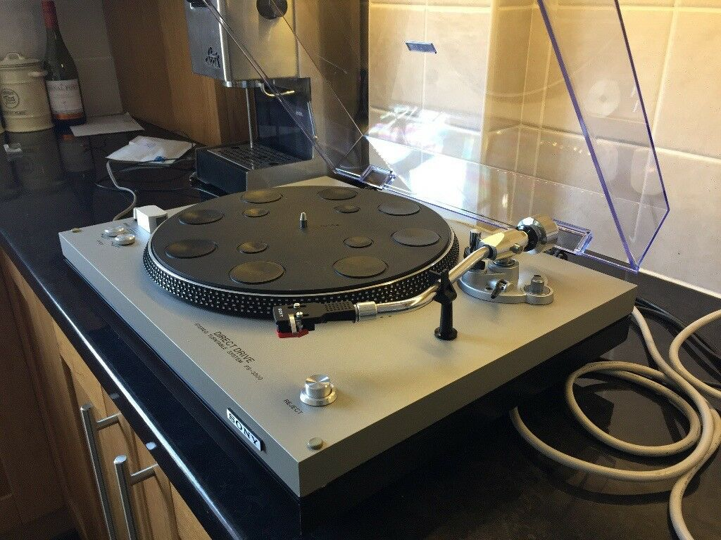 Vintage 1976 Sony Ps 3300 Direct Drive Turntable In