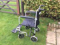 Z Tec Lightweight Transit Wheelchair