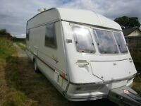 ABI Jubilee Viceroy 1995 5 berth caravan with full awning.