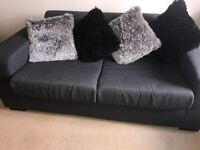 2 seater fabric sofa bed