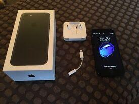 Iphone 7 - 32gb - Matt black - o2 - brand new