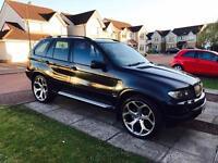 "BMW X5 3.0D Sport 2004 22"" Alloys"