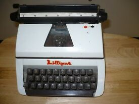old lilliput typewriter
