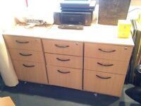 10+ desk pedestals 2/3 door