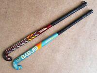"""2x Grays Hockey Sticks - 36.5"""""""