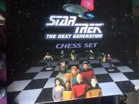 Original Star Trek Next Generation Chess Set