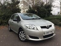 2007 (57) Toyota Auris 1.4 D-4D T2 77,000 MILES IMMACULATE CONDITION