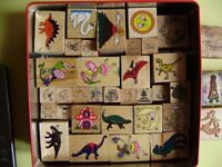 Stamps for children's craft activities, good condition, 2 sets