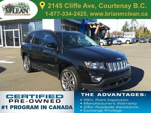 2014 Jeep Compass Limited Leather Seats/Sunroof/Accident Free
