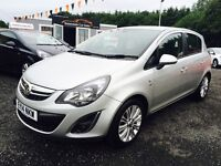 2014 Vauxhall Corsa, 12 Months Warranty ONLY £38 per week
