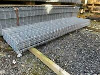 """JUST COME IN- 84""""x21"""" galv steel mesh panels"""