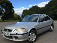 Honda Civic 1.6 i ES 5dr (sun roof, a/c) ONLY 2 FORMER KEEPERS FROM NEW*****