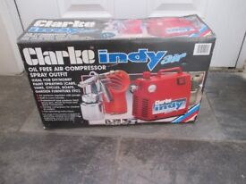 Clarke Indy Air Compressor
