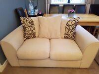 REDUCED PRICE £300 ONO 2 piece sofa set VGC