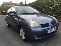 Renault Clio 1.2 Dynamique 12 Months Mot Full Service History Cheap Insurances Tax 59000 Miles
