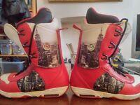 Burton Boxer snowboard boots - Men UK size 8