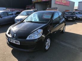 2007 Renault Clio 1.2 16v Extreme 3dr ** Ideal First Car ** 12 Months Mot 3 Months Warranty