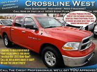2012 Dodge Ram 1500 SLT 4x4 / Hemi / Crew Cab / Power Everyt
