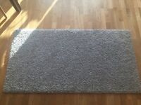 IKEA light grey rug