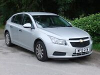 Chevrolet Cruze LS 1.6 with Low Mileage -Only Two Owners - MOT until July 2018