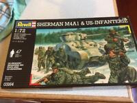 Ravell 1/72 Sherman tank