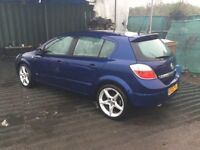 2005 Vauxhall Astra new shape low mileage very clean car alloys cd in lovely metallic blue long mot