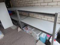 MACHINE MART - CLARKE CS5265S Boltless Shelving (Silver) Ideal Garage/Workshop