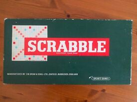 Classic Scrabble Board Game