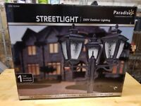 Sterno Paradise 3 Head Streetlight Lamp Post boxed in new condition